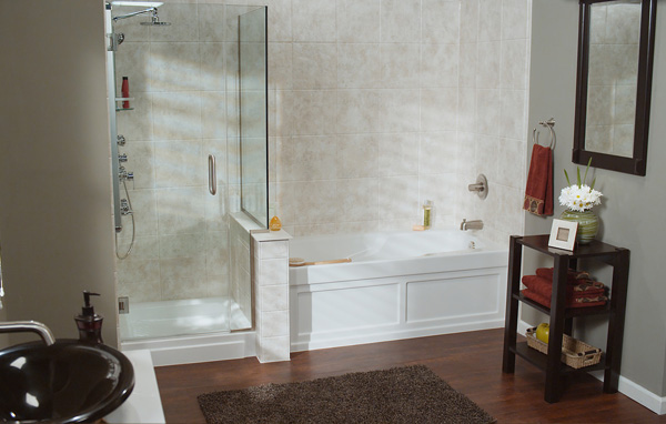 Bathroom And Kitchen Designer Remodeling Services Poulin Design Interesting Bathroom Remodel Albuquerque Decor