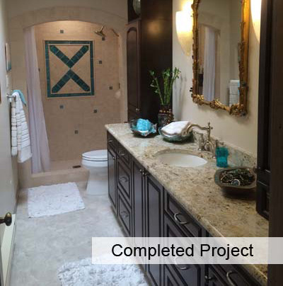 Completed Project Bathroom