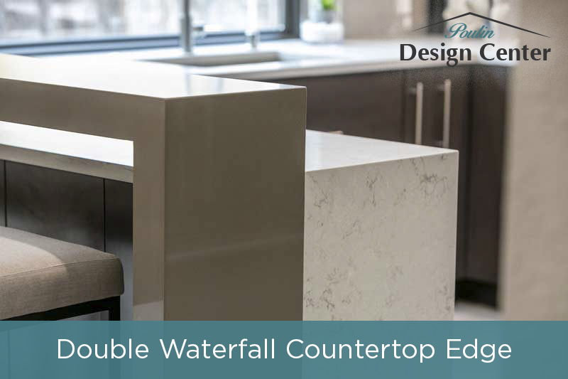 Waterfall Edge Design Element for your kitchen island