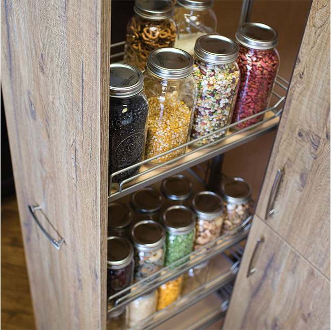 Pantry Organization Ideas - Pantry Pull-Out Cabinet