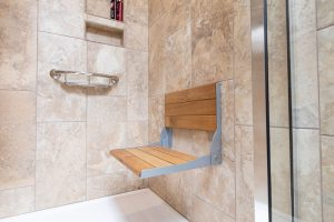 shower bench seating